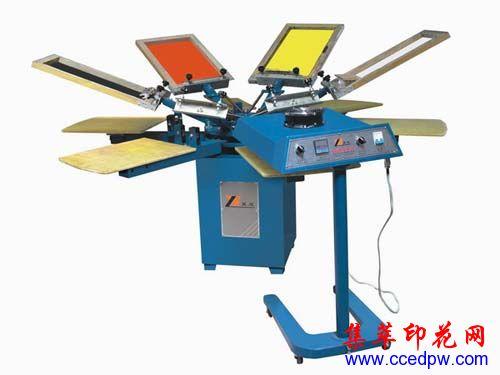 印花机,温州印花设备,手动印花机,4.6.8色手动印花机