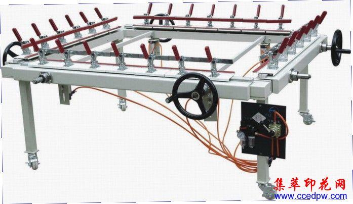 MX12-15單夾頭拉網機,手輪式繃網機