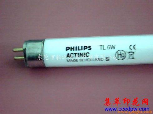 飞利浦 ACTINIC TL 6W 紫外线UV固化灯管