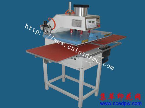 气压烫画机,气动双工位烫画机,广州烫画机
