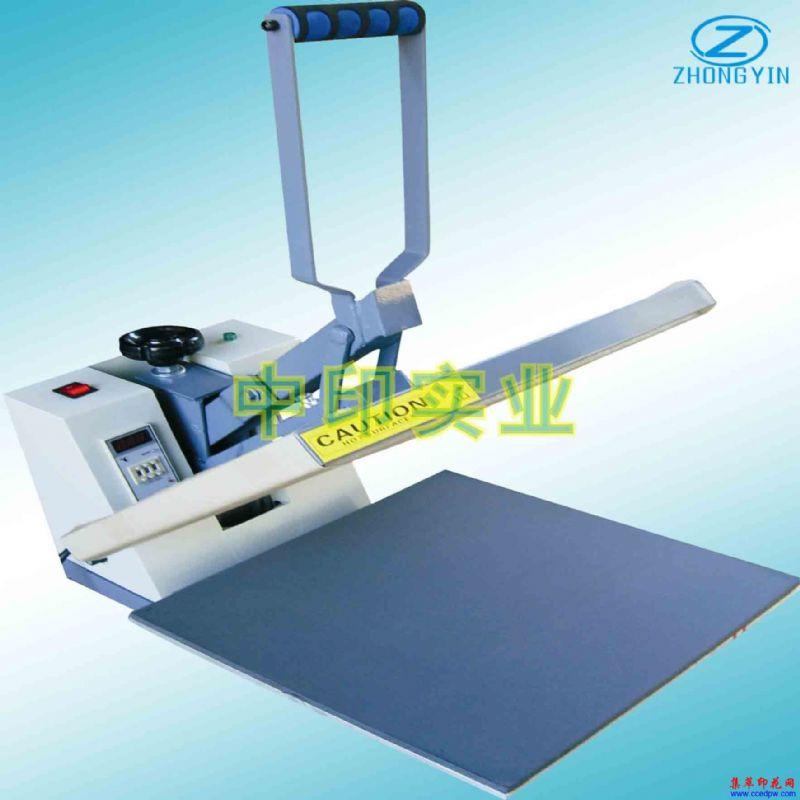 高压烫画机热转印手动印花机服装加工设备机械
