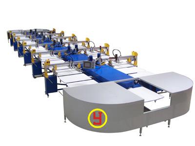 全自动纺织椭圆型印花机