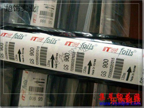 韓國燙金紙KOLON燙金紙ITW燙金紙科隆燙金紙