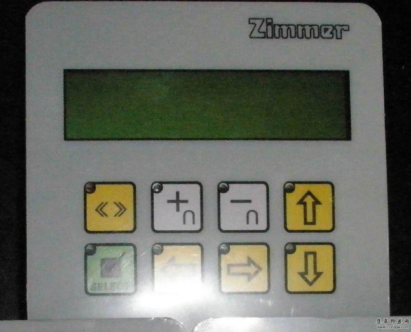 齐玛圆网印花机操作面板TC101