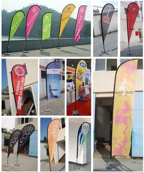 广告旗杆,户外注水旗杆,沙滩旗杆,水滴旗,刀旗