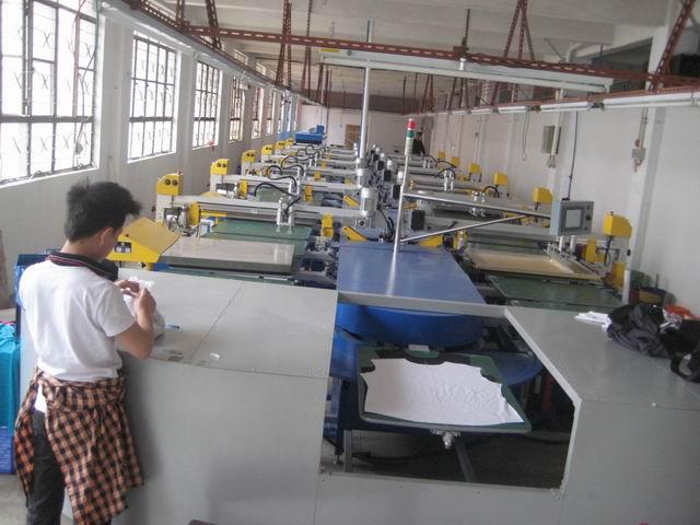 椭圆型全自动印花机