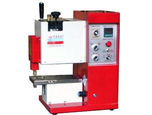 SY-841型台式热熔胶(拉链)过胶机