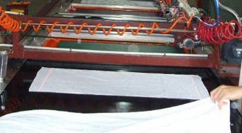 毛巾印花机印花导带