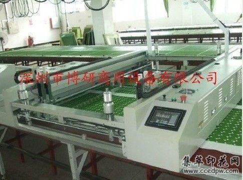 走台丝印机跑台丝印机毛毯印花机全自动台板丝印机一年保.jpg