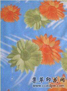 供应花朵转移印花纸