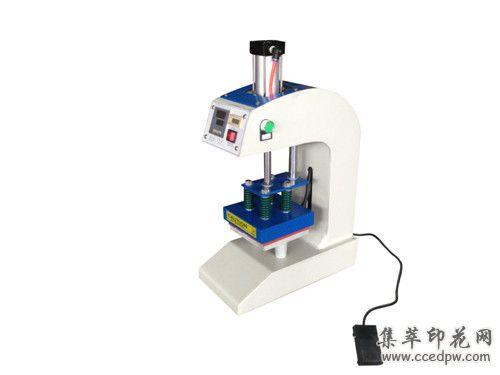 厂家提供带计数器15*15主动气动烫标机热转印烫唛机