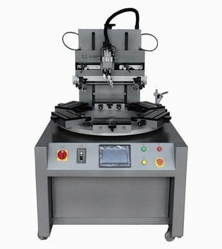 转盘式丝印机,实用型旋转式丝印机