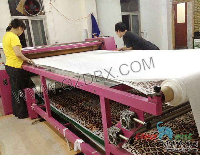 1.7米多功能滚筒印花机,裁片印花机