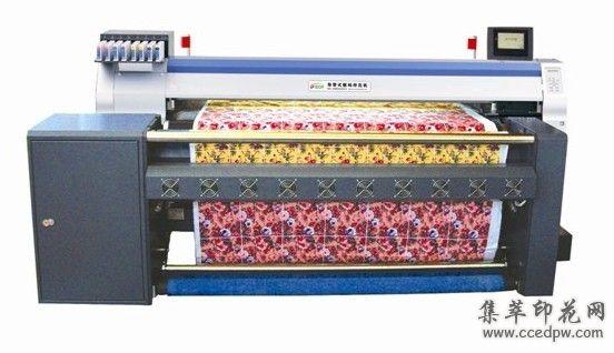 t恤印花机MIMAKITS34-1800A高速数码印花机