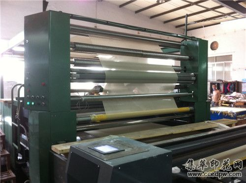 专业生产印花机高性能平网印花机坯布印花机