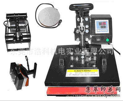 厂家直销四合一手压烫画机,热转印烫画机,烫钻机,印花机,压烫机