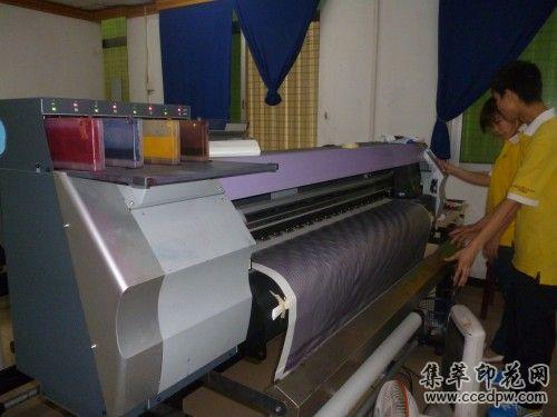東莞jv33平板印花機/滾筒式數碼印花機/熱升華熱轉印花機