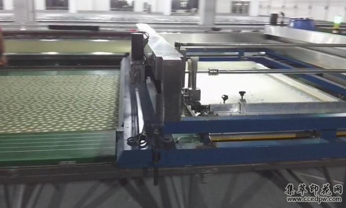 匹布拼缝印花流水线