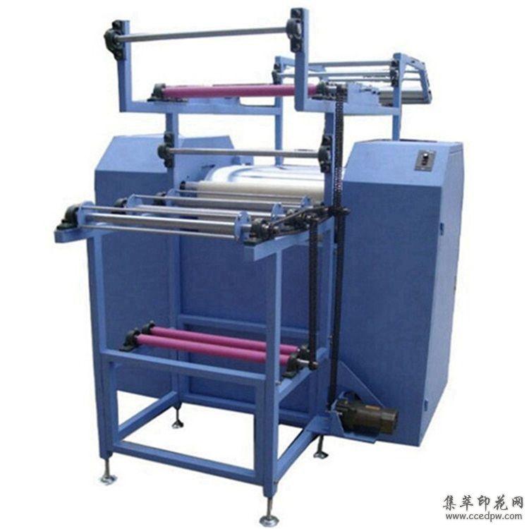 滚筒热转印织带印花机