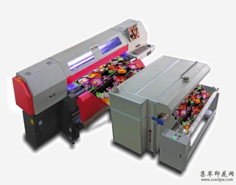 纺织导带数码印花机,服装数码印花机价格,彩神T100数码印花机品牌厂家