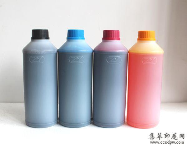 平板打印机墨水+优质平板打印机颜料/染料/弱溶剂/UV墨水