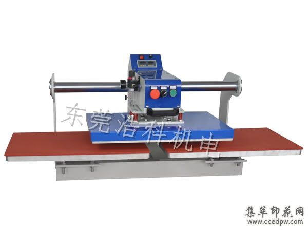 印花机烫画机t恤印花机压烫机烫画机上滑式气动双工位烫画机