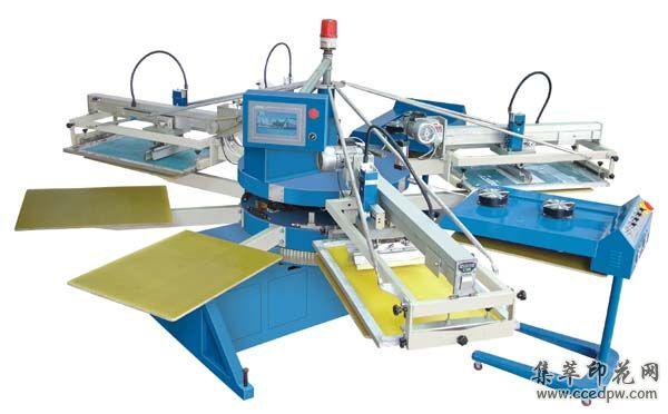 翼展SPE系列经济型全自动多色爱唯侦察1024机丝印机