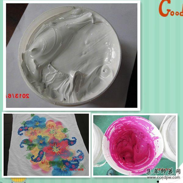 印花胶浆/水性胶浆/环保弹性白胶浆/机印白胶浆/透明胶浆