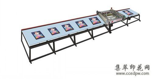 SPT系列全自动台版丝网印刷机(印花机)