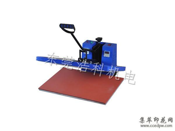 厂家直销新款平板烫画机热转印烫画机T恤烫画机手动烫画机