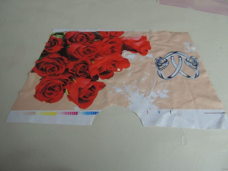 供应头巾印花纸裁片加工转印