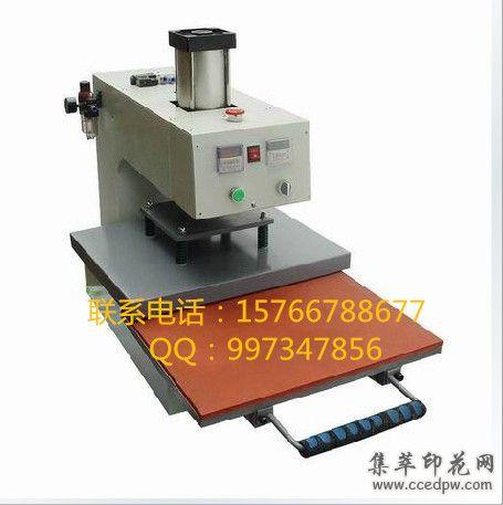 厂家直销抽拉式气动单工位烫画机压烫机烫钻机印花机热转印烫画机