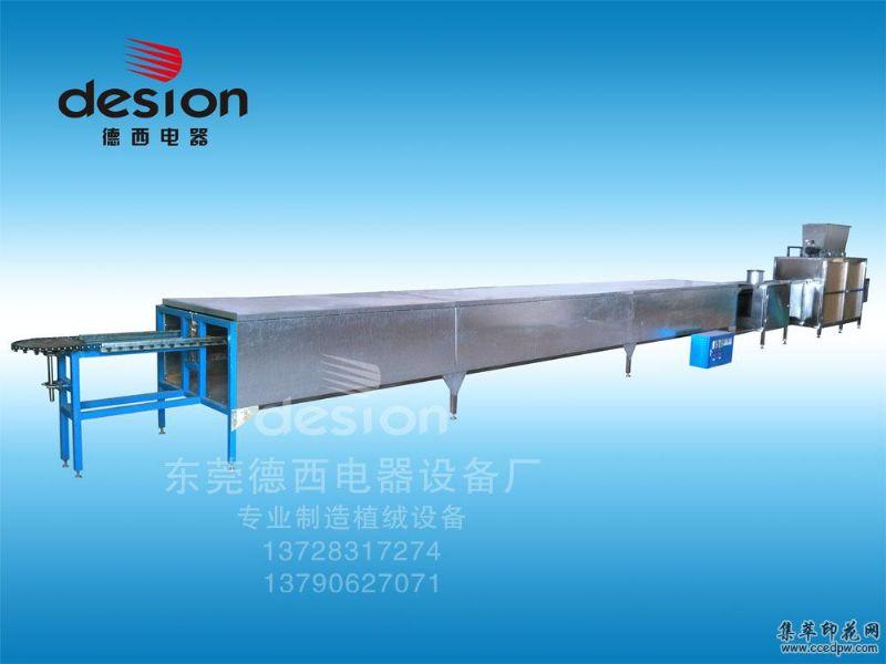 熱銷立體植絨生產線植絨機設備特價直銷