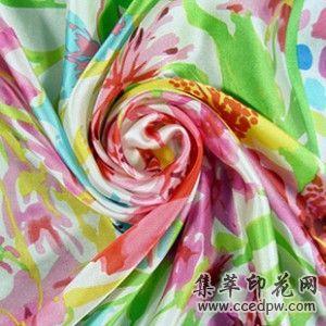 广东生产米高泳衣印花布