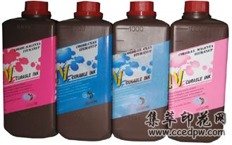 UV墨水UV光固化墨水UV平板机墨水INUP-SOF墨水