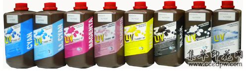 uv墨水UV喷绘墨水UV平板喷绘机墨水INUP-SOF墨水