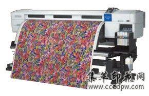 爱普生F7180墨仓式专业数码印花机
