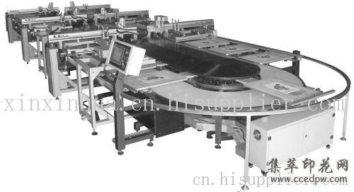 转盘印花机