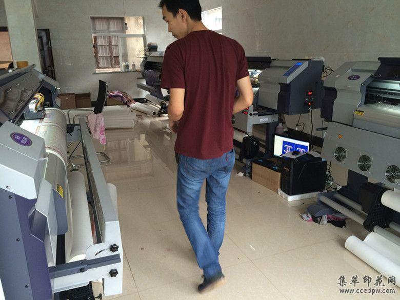 双头高速打印机工厂报价国产数码印花设备