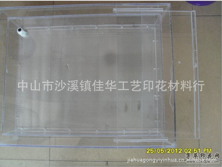 40*50CM印花用大靜電植毛箱(有機玻璃)靜電植絨箱子植毛機