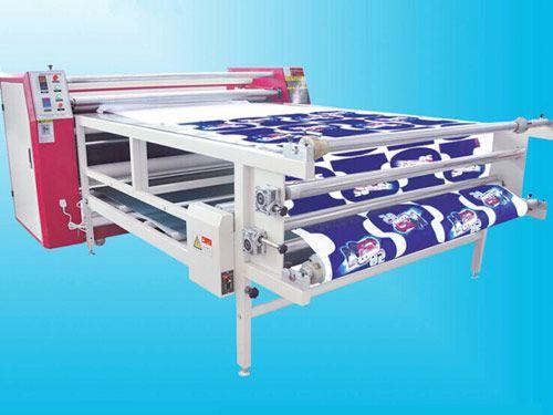 东莞浩然600*1900型滚筒烫画机,纵游齐市棋牌:滚筒烫印机