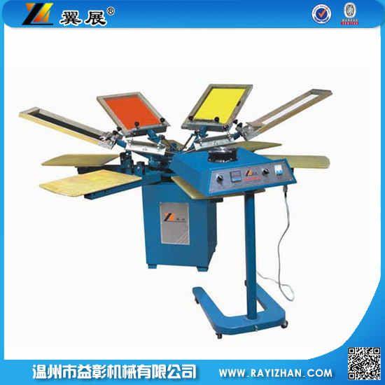 手动丝网服装印花机