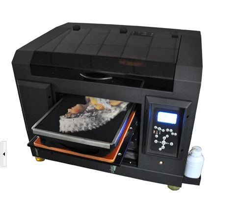 衣服上印图案的机器个性服装印花机器专业T恤打印机厂家直销