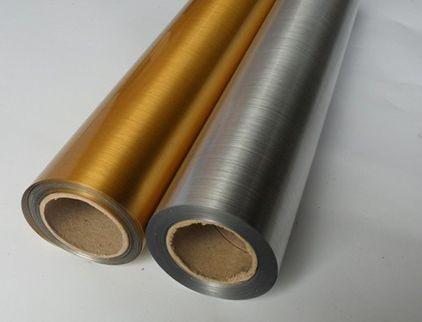 弱溶剂背胶拉丝金拉丝银胶片拉丝金银相纸