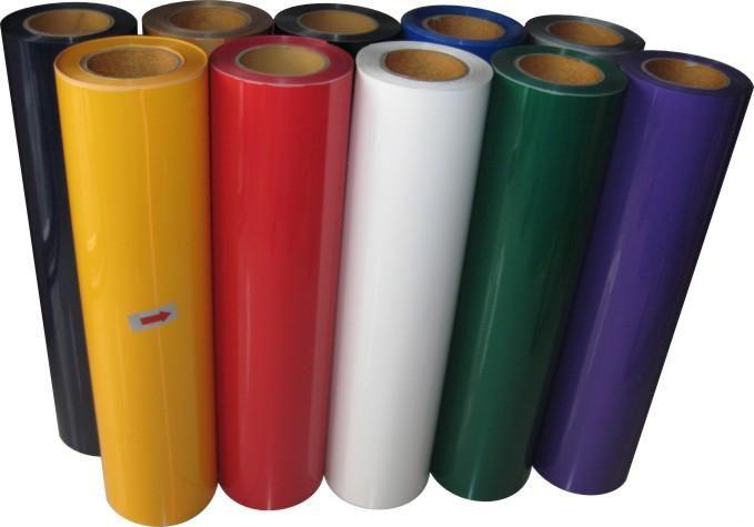 PU高弹热转印刻字膜1000系列专色刻字膜