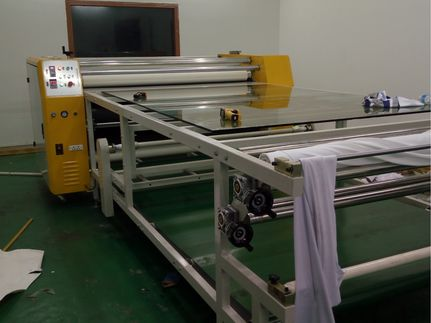 YS系列多功能服裝滾筒轉印機坯布滾筒印花機