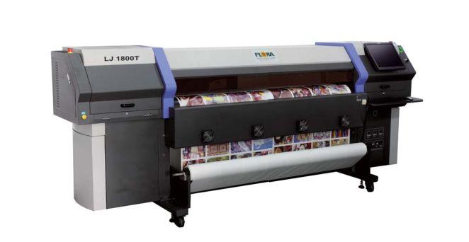 热转移印花机,热转印数码打印机,彩神LJ1800T热转移数码印花机