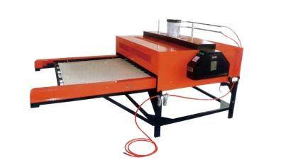 自动双工位单边操作升华转印机
