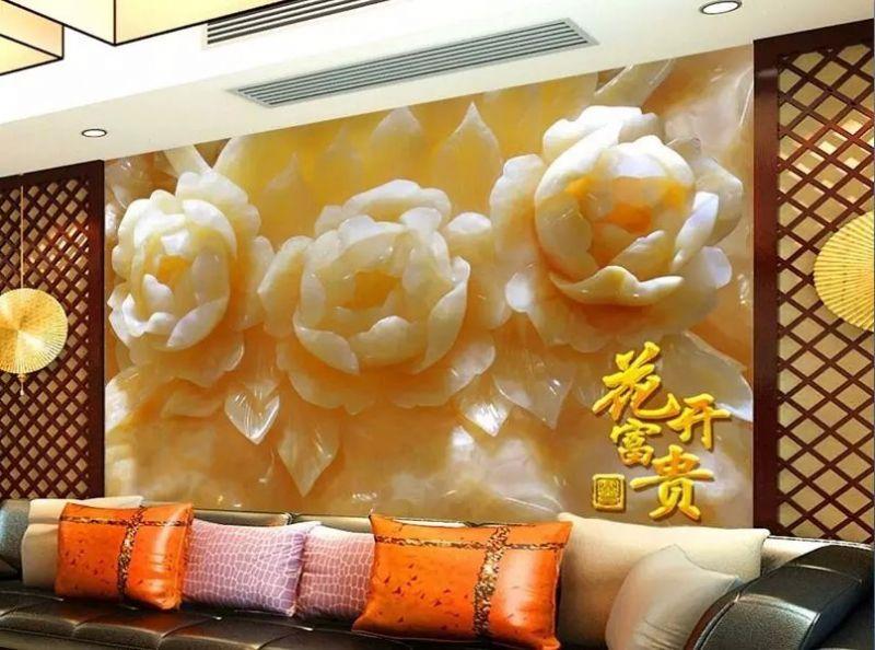 沙發瓷磚背景墻印花機彩雕瓷磚幻彩上色平板打印機