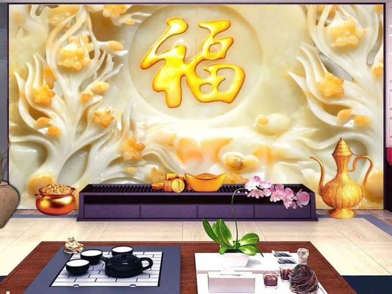 彩雕卧室瓷砖背景墙打印机价格UV上色平板打印机厂家